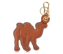 SCHLÜSSELANHÄNGER AUS LEDER 'CAMEL'