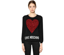 STRICKPULLOVER 'LOVE MOSCHINO'