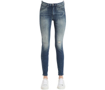 NGE DECONSTRUCTED-JEANS AUS BAUMWOLLE
