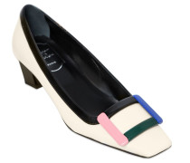 45MM HOHE PUMPS AUS LACKLEDER 'BELLE VIVIER'