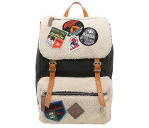 RUCKSACK AUS CANVAS MIT PATCHES 'MY JOLLY'