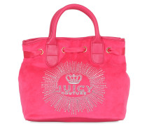 TASCHE AUS VELOURS 'CROWN JEWEL'