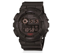 ARMBANDUHR 'MILITARY BLACK DIGITAL'