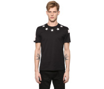 ENGES T-SHIRT MIT STERNPATCHES