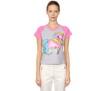 ENGE T-SHIRT AUS JERSEY 'LITTLE PONY'