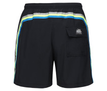 SHORTS AUS STRETCH-TECHNOSTOFF MIT LOGO