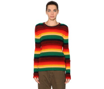PULLOVER AUS WOLL/MOHAIRSTRICK
