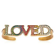 HANDARMBAND MIT KRISTALLEN 'LOVED'