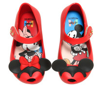FLACHE MELFLEXSCHUHE MIT DUFT 'MICKEY MOUSE'