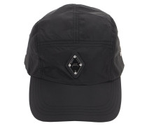 NYLON BASEBALL HAT W/ RHOMBUS BADGE