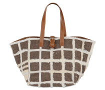 TOTE AUS RECYCELTEM SHEARLING 'KARLA'