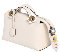 KLEINE LEDERTASCHE MIT BLUMEN 'BY THE WAY'