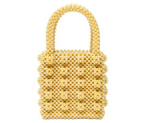 ANTONIA BEADED TOP HANDLE BAG