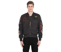 BOMBERJACKE MIT PATCHES 'MA-1'