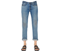 JEANS AUS BAUMWOLLDENIM IM RELAXED FIT