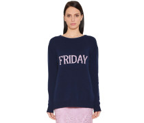 PULLOVER AUS WOLL/KASCHMIRSTRICK 'FRIDAY'
