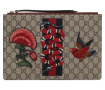 CLUTCH AUS GG-SUPREME-STOFF MIT PATCH