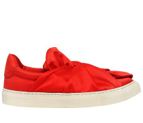 20MM HOHE SLIP-ON-SNEAKERS AUS SATIN 'KNOT'