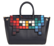 LEDERTASCHE 'EPHSON SPACE INVADER'