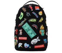 """RUCKSACK """"PATCHES ON PATCHES"""""""