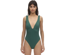 VIVIAN STRETCH PIQUÉ ONE PIECE SWIMSUIT