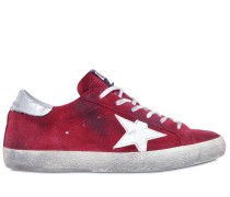 SNEAKERS AUS WILDLEDER 'SUPER STAR'