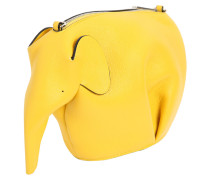 SCHULTERTASCHE AUS LEDER 'ELEPHANT'