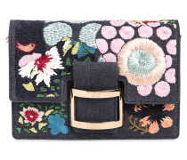 MIKRO CLUTCH AUS DENIM 'VIV'