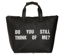 TOTE AUS LEDER 'DO YOU STILL...?'