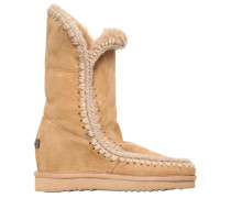 70MM WEDGE-STIEFEL AUS SHEARLING 'ESKIMO'
