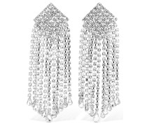 CRYSTAL CASCADE CLIP-ON EARRINGS