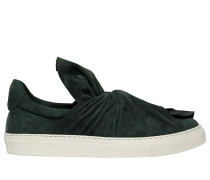 20MM HOHE SLIP-ON-SNEAKERS AUS WILDLEDER 'KNOT'