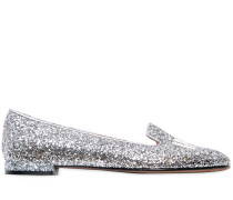 10MM HOHE GLITZERLOAFERS 'I FEEL..!'