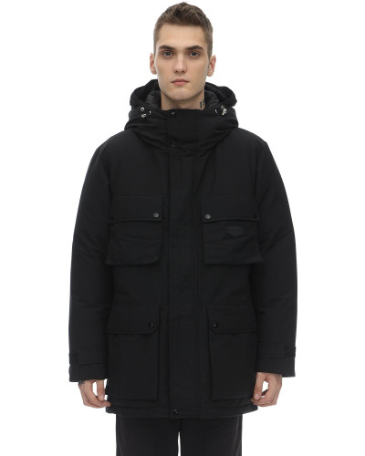 CHORT COTTON BLEND DOWN JACKET