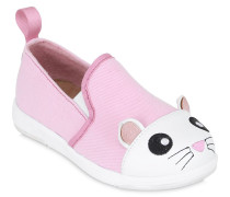 SLIP-ON-SNEAKERS AUS BAUMWOLLGABARDINE 'MOUSE'
