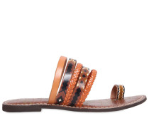 10MM LAWRENCE MULTI STRAP LEATHER SANDAL