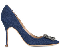 105MM HOHE PUMPS AUS DENIM 'HANGISI'