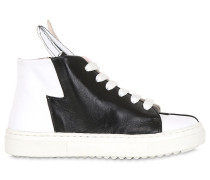 HOHE SNEAKERS AUS LEDER 'BUNNY SNEAKS'