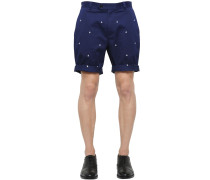 MILANO COTTON GABARDINE SHORTS