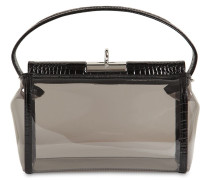 WATER PVC & CROC EMBOSSED LEATHER BAG