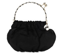 VERSAILLES SATIN TOP HANDLE BAG