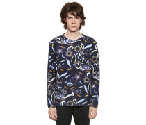 SWEATSHIRT AUS NEOPREN 'JOHN BOOTH ARTWORK'