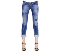 JEANS AUS STRETCHDENIM 'SEXY ROLLED UP'