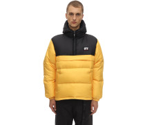 MAG COLOR BLOCK PUFFER JACKET
