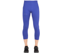 3/4-LANGE LEGGINGS AUS STRETCH-NYLON