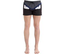 BADESHORTS AUS NYLON 'MONSTER EYES'