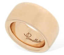 """18KT DICKER ROSÉGOLD-RING """"ICONICA"""""""