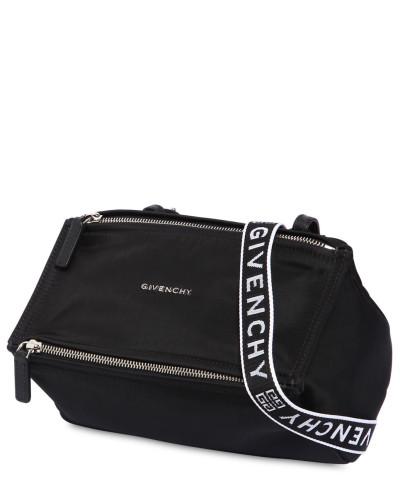 Kaufen Sie Ihre Lieblings Billig Verkauf Rabatte Givenchy Damen MINI NYLONTASCHE MIT LOGORIEMEN 0TwGHNKUX