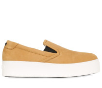 40MM HOHE SLIP-ON-SNEAKERS AUS WILDLEDER MIT TIGER