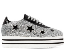 50MM GLITZERNDE PLATEAU-SNEAKERS